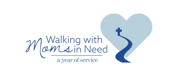 Walking with Moms in Need logo